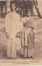 B81203 mariage d orphelins india nos petits indians cathechisme front/back image