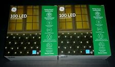 Ge Energy Smart ConstantOn 100 Led Net-Style Lights Warm White 5ft x 4ft 2 Boxes