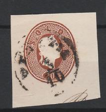 FRANCOBOLLI - 1861 LOMBARDO VENETO 10 SOLDI USATO DA INTERNO POSTALE Z/9219