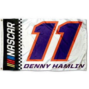 Denny Hamlin 3 by 5 Tailgate Banner Flag