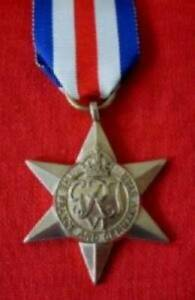 MEDALS - BRITISH WWII. FRANCE AND GERMANY STAR ( FULL SIZE ).