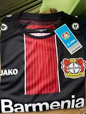 JAKO Fantrikot Bayer 04 Leverkusen Heim KA Schwarz! Trikot, Jersey *NEU* GR L