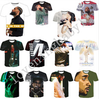 New Hot Women/Men Rapper Nipsey Hussle 3D Print Casual T-Shirt Short Sleeve Tops