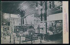 Automobile car advertising MASSON Engine-generator exposition old1906 postcard
