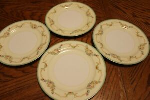 Vintage~Empress China~(4) Dinner Plates~Floral~Made in Japan~Beautiful!