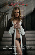 Horror Themed 11x17 Poster Signed by International Cosplayer Tanya Tate Herself