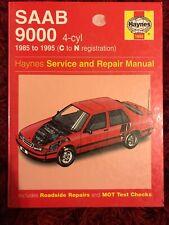 Saab 9000 4-Cyl 1985 -1995 Haynes Workshop Manual