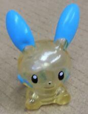 Pokemon Finger Puppet Clear Minun Figure Gotta Catch Them All Nintendo Bandai