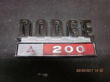 1969-71 DODGE 200 EMBLEM