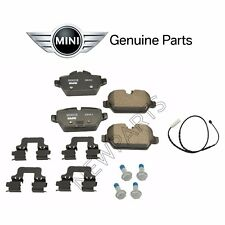For Mini Cooper Countryman Paceman R60 R61 Rear Brake Pad Set & Sensor Genuine
