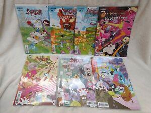 Adventure Time x Regular Show 1-6 Kaboom! Lot of 7 Cartoon Network Comic book