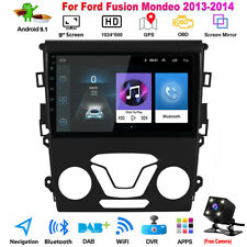 For Ford Fusion Mondeo 2013 2014 9'' Android Stereo Radio Gps Navi Camera Xc460