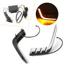 LED Daytime Running Fog Light For Suzuki Swift 2014- 2016 DRL lamp Turn Signals