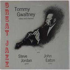 TOMMY GWALTNEY w/ STEVE JORDAN + JOHN EATON: Greet Jazz SIGNED Vinyl LP