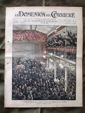 La Domenica del Corriere 30 Aprile 1905 Casa ferrovieri Porto di Tunisi Stazione