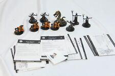 10 Dragon Eye D&D Mini Dungeon Dragons W Cards Drow Warriors Drunken Master Naga
