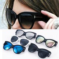 Fashion Cat Eye Sunglasses Retro Shades Women Girls Oversize Glasses Eyewear