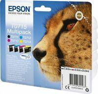 Epson T0715 MultiPack Gepard SX 100 105 110 200 205 210 215 400 410 415 510 o.V.