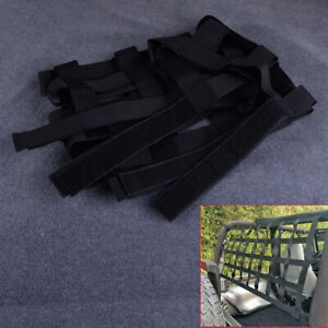 Back Window Extra Storage Roof Cargo Net Hammock Fit for Jeep Wrangler JK TJ ti