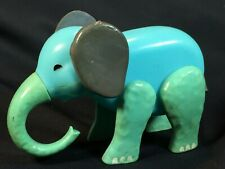 Vintage Fisher Price Little People Circus Train #991 BLUE ELEPHANT Replacement