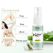 30ml Spray Wipe Hair Removal Sprayer Natural Painless Leg Body Remover Pansly UK