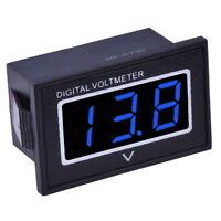 """Wasserdicht Digital Mini Voltmeter 3-30V DC Rot Blau Grün 0.36"""" Spannungsanzeige"""