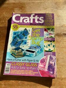 CRAFTS BEAUTIFUL MULTI CRAFTING CRAFTS MAGAZINE ISSUE 6 FEBRUARY 2002