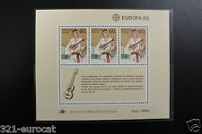 Portugal - Madeira - Europe CEPT - 1985 - Bloc - Mi M 6 - AF 76 - Postfr. XX