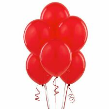 Pack 25 Red 12 Inches Latex Pearled Helium Balloons Party Wedding Birthday decor