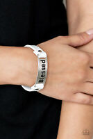 Paparazzi Jewelry Bracelet ~Count Your Blessings - White~NWT - 4289