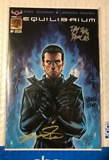 Equilibrium #1 Baltimore Comic Con Mega Signed Edition American Mythology RARE