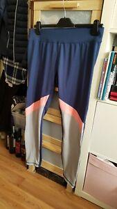 INOC women navy blue grey pink stretch elastic waist gym joggers sports pants