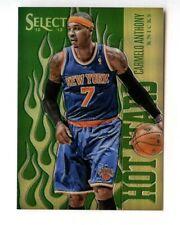 Carmelo Anthony 2012 12 Select Green Prizm Hot Starts #/15