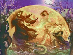 Harry Potter Golden Web Mary GrandPre SIGNED Giclee on Art Paper Ltd Ed of 150