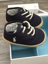 Ralph Lauren Zapatos de bebé, azul marino 2.5UK