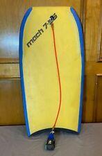 "Vintage 1991 Morey Boogie Mach 7-Ss 42"" Bodyboard w/Original The Pro Leash Great"