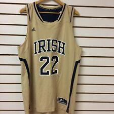 Vintage notre dame Fighting Irish Basketball Jersey Size Large With Tags