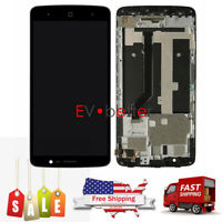 CA For ZTE Max XL N9560 LCD Display ± Touch Screen Digitizer ± Frame Replacement