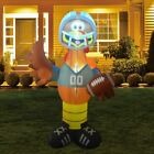 Turkey Playing Football Thanksgiving Airblown Inflatable