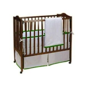 Baby Doll Bedding Forever Mine Junior Cradle Bedding Set Green Apple
