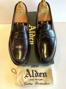 Alden LHS Mens Cordovan Shell Loafer  Color 8 US 11