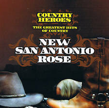 """NEW Antonio Rose -the Greatest Hits Of Country"""" Country Heroes"""
