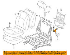 TOYOTA OEM 05-08 Tacoma Front Seat-Cushion Bottom Cover Right 71875AD020E0