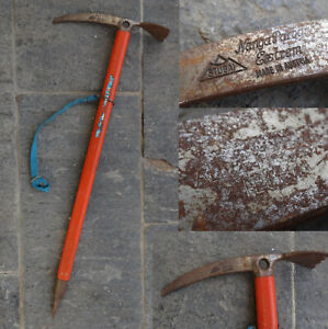 Stubai Nanga Parbat  EXTREM Made in Austria ice axe Piolet Albert Lutz Teufen