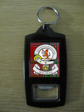MAC BEAN CLAN BOTTLE OPENER KEY RING (IMAGE DISTORTED TO PREVENT WEB THEFT)