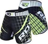 RDX MMA Shorts Mens Muay Thai Grappling UFC Boxing Fighting Short Wear Kick R2G