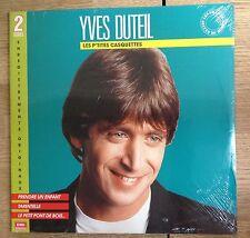 """Double LP Yves Duteil """"Les p'tites casquettes"""" Compilation 1989 NEUF SCELLÉ"""