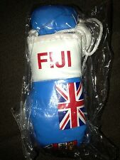 FIJI / FIJIAN FLAG Mini Boxing Gloves Ornament *NEW*