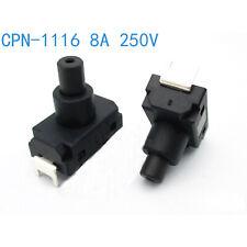 16mm Metall 12V LED Power Symbol Rastend SchalterTaster 2