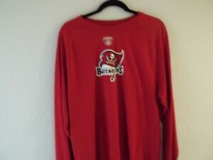 Red Long Sleeve Tampa Bay Buccaneers T-Shirt XL       (19)